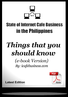 e-book internet cafe state of Internet Cafe business in the Philippines