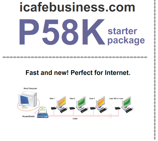 internet cafe package